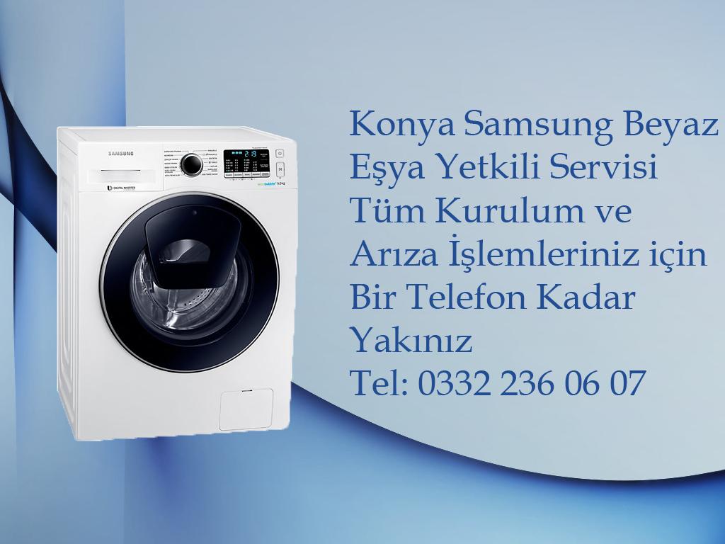 Konya Samsung Çamaşır Makinesi Kurulum ve Yetkili Servis Hizmeti