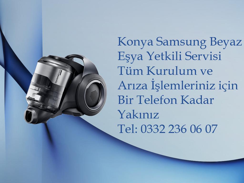 Konya Samsung Süpürge Yetkili Servis Hizmeti