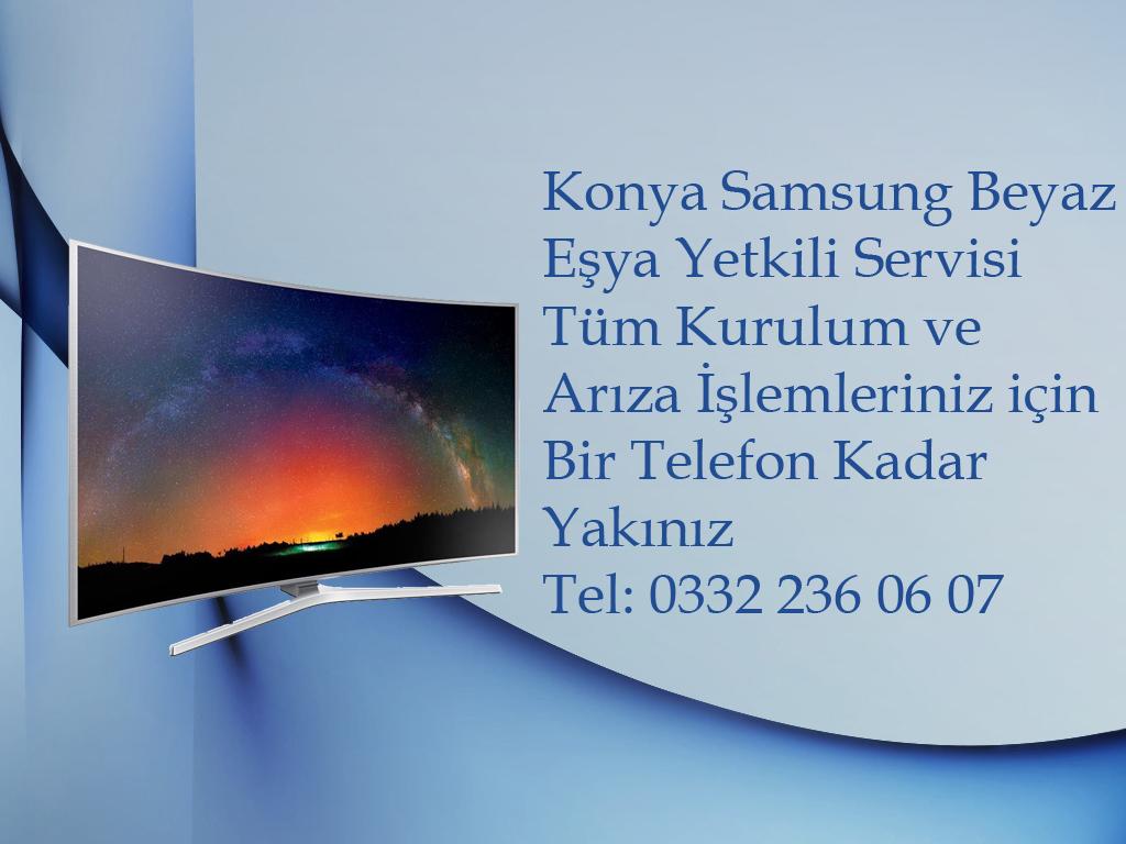 Konya Samsung Televizyon Kurulum ve Yetkili Servis Hizmeti